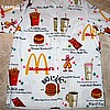 Sold Groovy Vintage McDonald's Uniform Smock Shirt 1970s