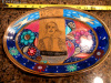 William Shakespeare Hand Painted Dish Signed by Artist