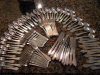 Georg Jensen Continental Sterling Silverware Service for 12 (108 pieces)