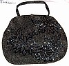 Gorgeous Olive Beaded Bag 1940s