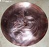 "Rebajes Rare Deco Kitty 10"" Plate SOLD"