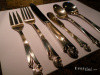 Frank Smith  Woodlily Silverware / Service for 4 (24 pieces)