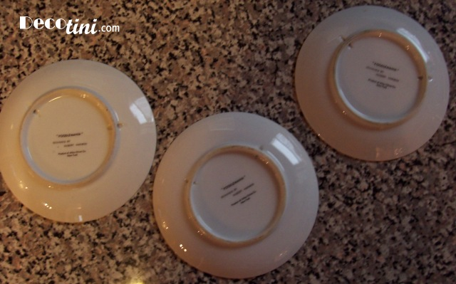 Hubert Harmon Poodlemania Plates by Atlas NY 6 designs, your choice.
