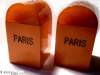 SOLD Bakelite PARIS Salt & Pepper Shakers