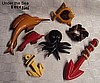 Bakelite Sea Creatures (Sold Individually)