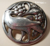 1930s Mark Georg Jensen Bird Pin #175 sold